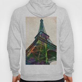 The Eiffel Tower, Paris - Aged paper Hoody