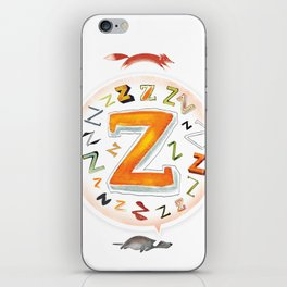 The Quick and the Zed iPhone Skin