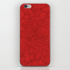 Ancient Rome in Red iPhone & iPod Skin