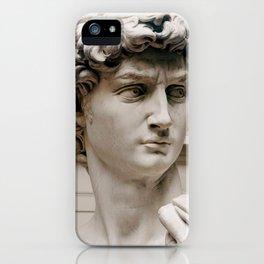 "Michelangelo ""David"" (head)(1) iPhone Case"