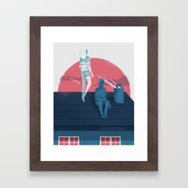 Ghost series 03 Framed Art Print