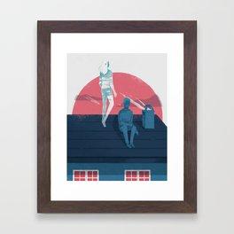 Ghost series 03 Framed Art Print