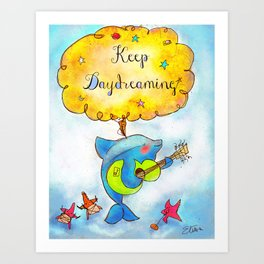 Keep Daydreaming : Print 02/05  Art Print