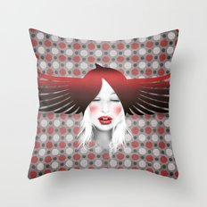 MonGhostX - Close, Fly. Dreams... of a free world ! Peace. Throw Pillow