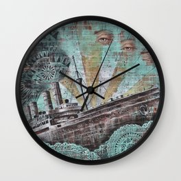 the boat wall Wall Clock