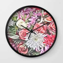 Dreamy Blossoms 1 Wall Clock