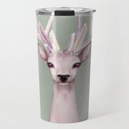 Crystal Deer Travel Mug