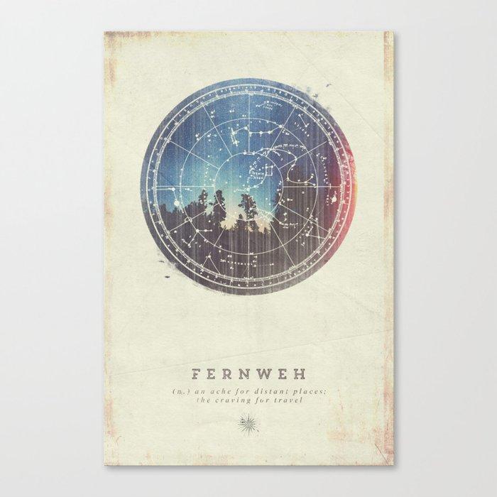 Fernweh Vol 3 Canvas Print