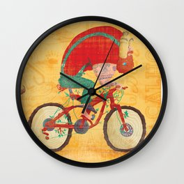 Bunyan's Day Out Wall Clock