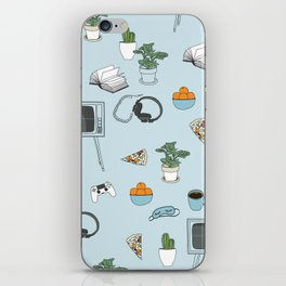 Friday Night Party {for introverts} iPhone Skin