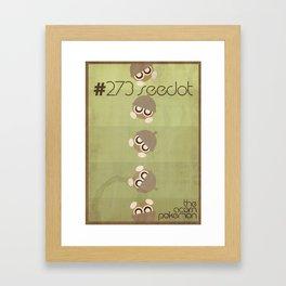 Seedot Framed Art Print