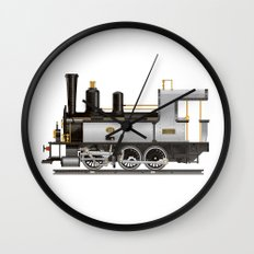 Locomotive Wall Clock