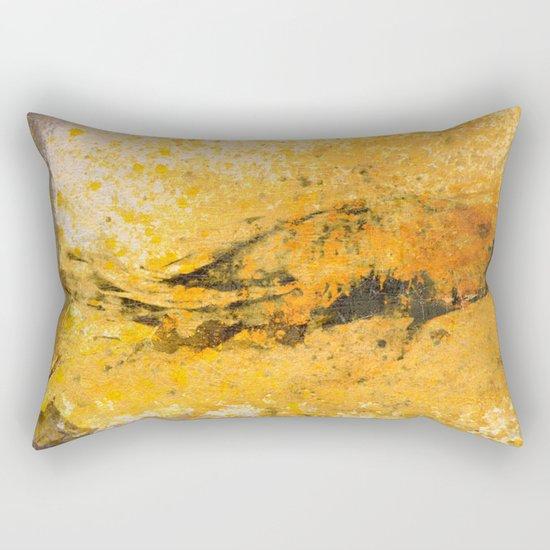 道の金 (Way of Gold) Rectangular Pillow