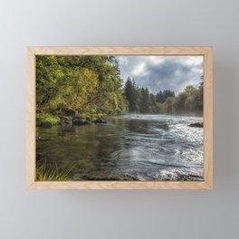 Vying for the Day Framed Mini Art Print
