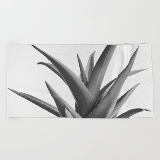Leaves II Beach Towel