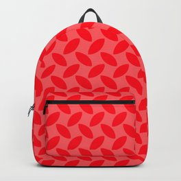 Red Tread Style Background Backpack