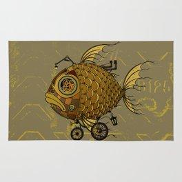 Golden fish Rug