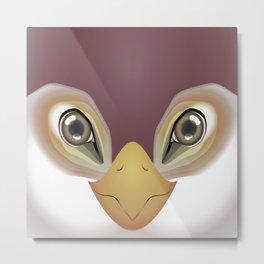2D Bird 1 Metal Print
