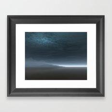 Blue Dawn Framed Art Print