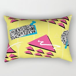 Fashion Patterns Rad, Bad and Glad Rectangular Pillow