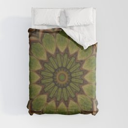 Greenwitch // Visionary Mandala Celtic Witchy Boho Bohemian Circle Nature Energy Healing Meditation Comforters