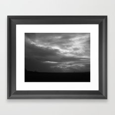 The Heavens are Soon to Open Framed Art Print