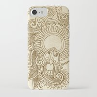 henna iPhone & iPod Cases featuring henna by Julia Loring