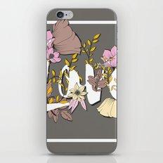 Type Love 004 iPhone & iPod Skin