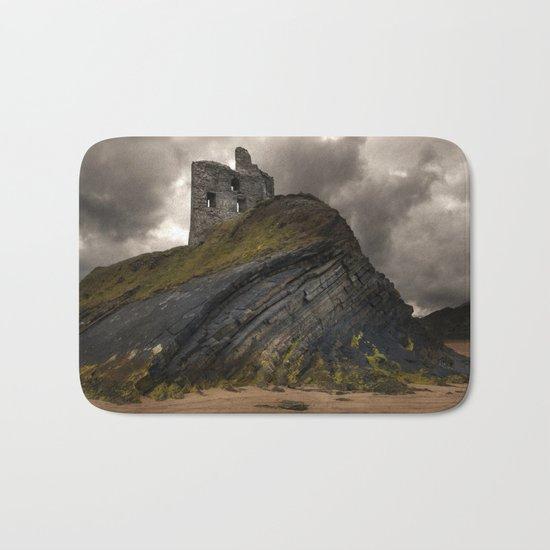 Forgotten castle in western Ireland Bath Mat