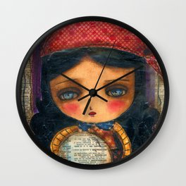 The Fortune Teller Wall Clock