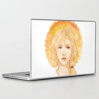 enjolras Laptop & iPad Skins featuring Eyes of a leader by Elnawen