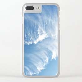 Sky Waves Clear iPhone Case