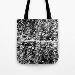 Metropolis (for other colors, see Black Ice and Starburst) Tote Bag