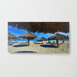 Playa Varadero Metal Print