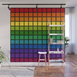 Rainbow Chex Echo Wall Mural