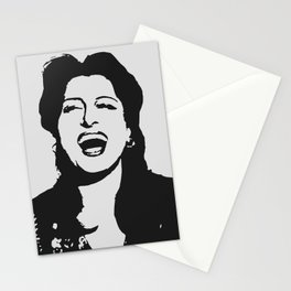 Anna laughing Stationery Cards