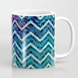 Grunge Zig Zag Pattern G88 Coffee Mug