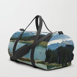adventure park hög alps serfaus fiss ladis tyrol austria europe Duffle Bag
