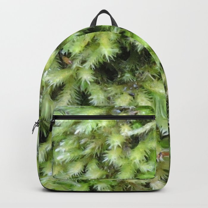 TEXTURES -- Moss on a Tree Trunk Rucksack