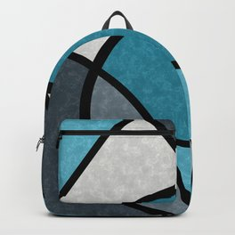 Dark night , abstract #art#abstraction Backpack