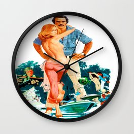 Gator Movie Poster Wall Clock