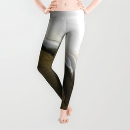 Slice of Heaven - Original Abstract Painting Leggings