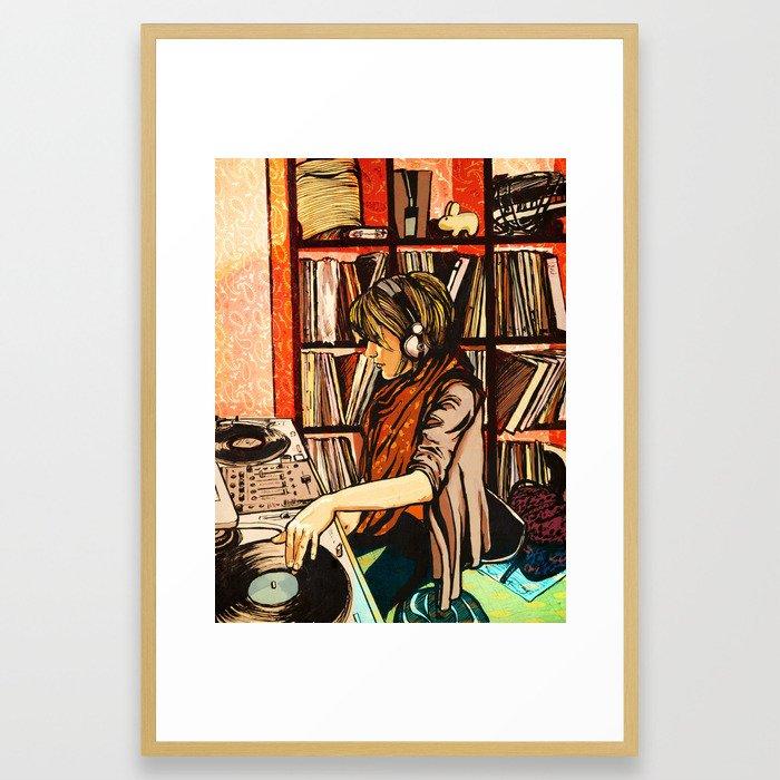 *vinyl* Framed Art Print