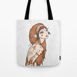 Boho Nymph Twin Tote Bag