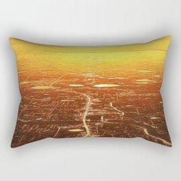 Horizon Sunset Rectangular Pillow