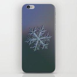 Real snowflake - Hyperion dark iPhone Skin