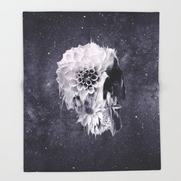 Decay Skull Throw Blanket