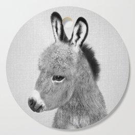Donkey - Black & White Cutting Board