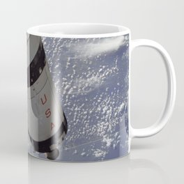 Apollo 7 - Saturn V over Cape Canaveral Coffee Mug