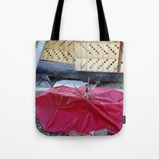 Umbrella Blues 2 Tote Bag